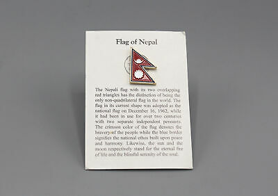 Nepal Flag Pin Badge • 1.49£