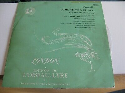 £19.99 • Buy Classical 10  LP  L'oiseau Lyre Purcell Come Ye Sons UK Pressing DL 53004