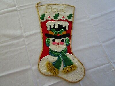 Christmas Stocking Kit.Vintage Christmas Stocking Kits