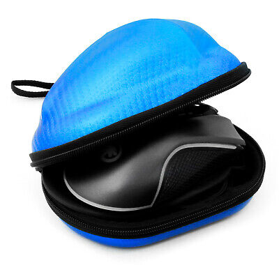 $14.99 • Buy Carbon Fiber Blue Gaming Mouse Travel Case Fits The Final Mouse Air58 Ninja