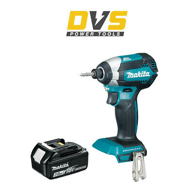 MAKITA DTD153Z LXT 18V LI-ION BRUSHLESS CORDLESS IMPACT DRIVER 1x 3Ah Battery • 136.95£