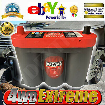 AU288 • Buy Optima Red Top Battery 6 Volt New Agm Jeep Willys Vintage Big Power Opt6v