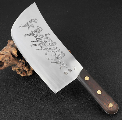 $ CDN91.28 • Buy Handmade Forged Steel Knife Butcher Slicing Chop Meat Cleaver Chef Horse Horses