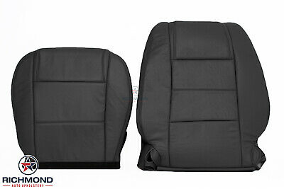 $506.70 • Buy 2005-2009 Ford Mustang V6-Driver Side Complete Genuine Leather Seat Covers Black