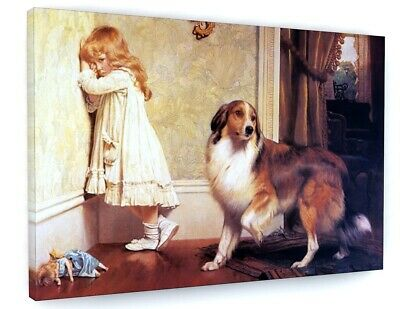 £28.02 • Buy Charles Burton Barber Special Pleader Canvas Picture Print Wall Art D168