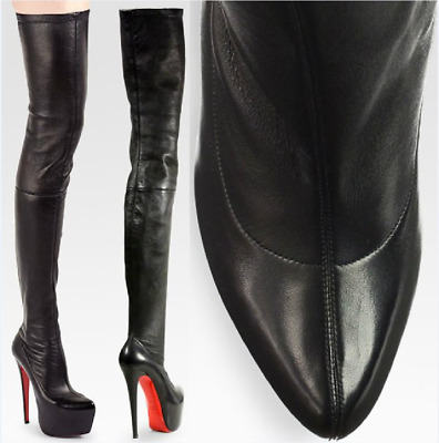 ffa2fc4a572 christian louboutin over the knee boots