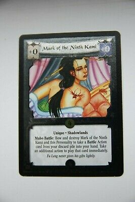 L5R CCG  Reign Of Blood  FOIL MARK OF THE NINTH KAMI • 2£