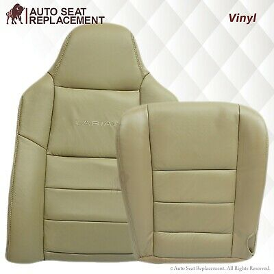 $69.99 • Buy 2003 2004 2005 2006 2007 Ford F250 F350 Lariat Synthetic Leather Seat Covers Tan