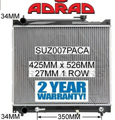 AU219.95 • Buy SUZUKI GRAND VITARA SQ 1998-2005 2.0ltr & 2.5ltr PETROL RADIATOR *GENUINE ADRAD*