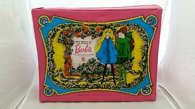$ CDN30 • Buy AWESOME Vintage THE WORLD OF BARBIE Case. 1968 Mattel. Double Case. A Must See!