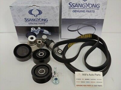 AU379.89 • Buy Genuine New Ssangyong Stavic Mpv 2.7l Turbo Diesel All Model Engine Belt Set