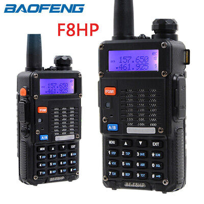 Baofeng F8HP Handheld Walkie Talkie VHF UHF Dual Band Two Way Radio Flashlight • 38.99£