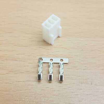 £1.79 • Buy Pk Of 2 - Female 3 Pin Fan Power Connector - White Inc Pins