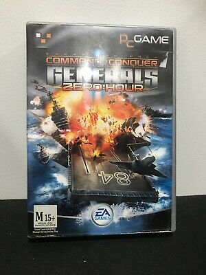 AU29.95 • Buy Command And Conquer Generals - Zero Hour - PC Game