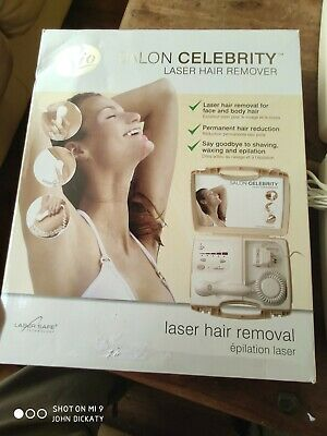 Rio Salon Celebrity Laser Home Kit Hair Removal Face And Body NEW UNUSED  • 35£