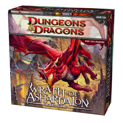 AU99.95 • Buy Dungeons & Dragons Wrath Of Ashardalon Board Game NEW
