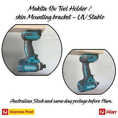 AU6.47 • Buy Makita 18v Tool Holder / Skin Mounting Bracket - Battery