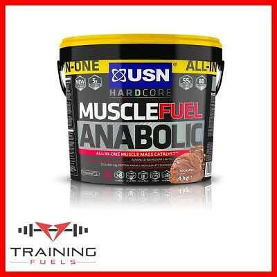 USN Muscle Fuel Anabolic All-in-One Lean Muscle Gainer 2kg/4kg With Free Shaker • 44.69£