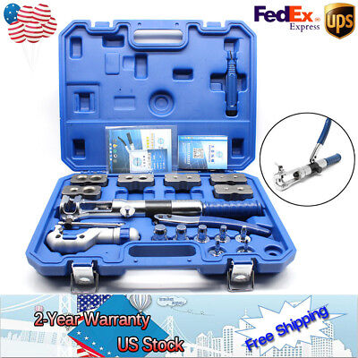 NEW WK-400 Hydraulic Pipe Expander Set Pipe Fuel Line Flaring Tools Kit US Ship • 338.46$