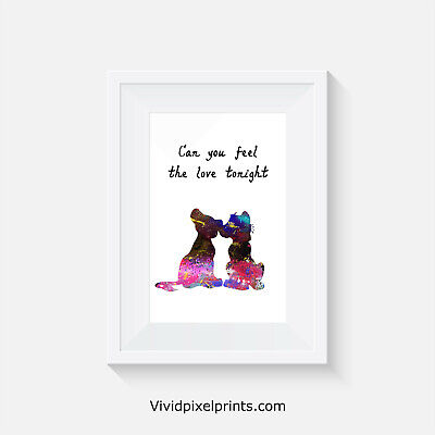 Lion King, Print, Poster, Disney, Quote, Wall Art, Gift, Inspirational, Picture • 2.92£