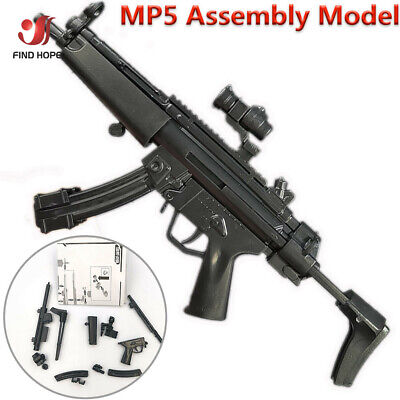 £2.19 • Buy 1/6 Scale 4D HK MP5 Submachine Assembly Weapon Model Gun Toy Fit 12  Figure Body