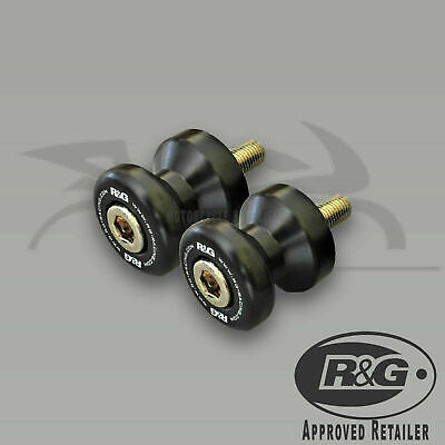 £21.33 • Buy MOTORCYCLE R&G Cotton Reels For APRILIA RS125 ONE PAIR BLACK M8 2000 - 2010