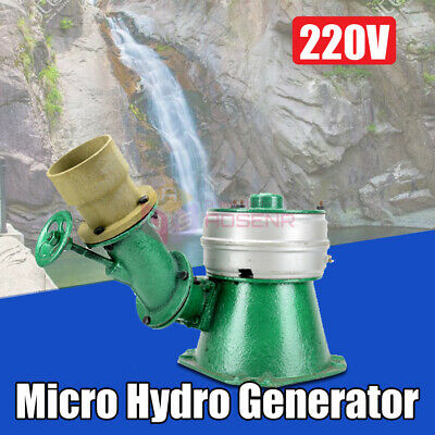 NEW Micro Hydro Water Turbine Single Phase Generator Hydroelectric Magnet  500W • 199.99£