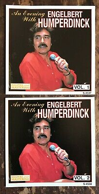 $3.99 • Buy An Evening With Engelbert Humperdinck 2 IMPORT CDs Volumes 1 + 2 As Time Goes By
