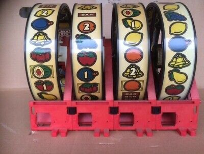 JPM PYRAMID  Fruit Machine Item  , Reel Only , Used / Working When Dismantled   • 70£