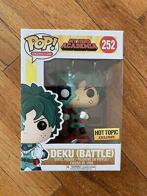 $25.95 • Buy Funko Pop! Battle Deku My Hero Academia #252 Hot Topic Exclusive *In Hand*