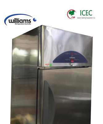 £700 • Buy William Double Door Vertical Fridge / Has Two Compartment And Two Separate Co...
