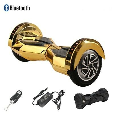 $ CDN249.99 • Buy Hoover Board Chrome Gold 2 Wheel Electric Scooter UL Approved LED Bluetooth