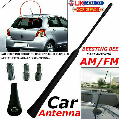 Car Beesting Bee Sting Radio/stereo Flexible Aerial Ariel Arial Mast Antenna • 2.85£