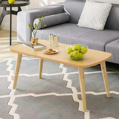 AU66.20 • Buy Living Room Furniture Simple Design Office Wooden Frame Coffee Table H33