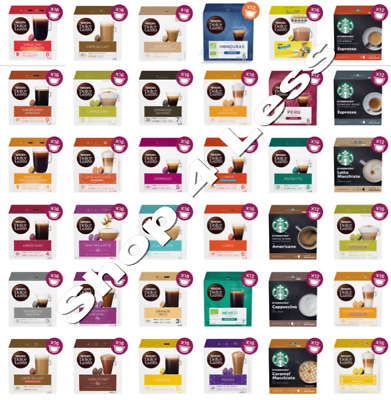 NESCAFE DOLCE GUSTO COFFEE PODS (1 BOX)-Buy 3 Get 1 FREE (Add 4 To Basket) • 6.95£