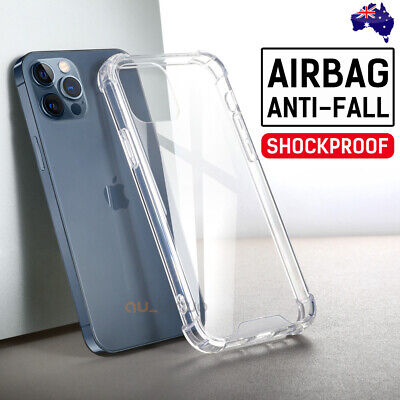 AU6.49 • Buy IPhone 12 Mini 11 Pro Max XS XR Shockproof Case Crystal Thin Gel COVER For Apple