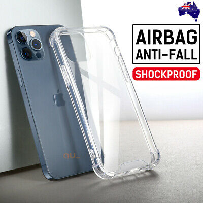 AU5.95 • Buy IPhone 13 12 Mini 11 Pro Max XS Shockproof Case Crystal Thin Gel COVER For Apple