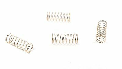 Lima Hornby X8329 Locomotive Train Ringfield Motor Springs For Carbon Brushes X4 • 1.89£