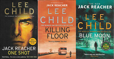 £8.99 • Buy Lee Child / Jack Reacher 3 Book Bundle Fully Tracked Shipping