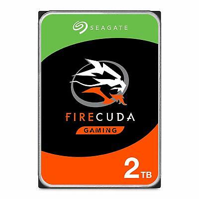 View Details Seagate 2 TB FireCuda Gaming SSHD 3.5 Inch Internal Solid State Hybrid Drive (Mo • 120.90£