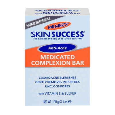 £6.19 • Buy ANTI ACNE MEDICATED COMPLEXION SOAP 100G By PALMERS + PREMIUM DELIVERY