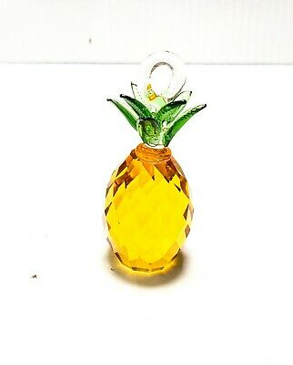 $17.99 • Buy Pineapple Chandelier Crystals, 40mm X 3.25  Glass Fruit Prism Lamp Part