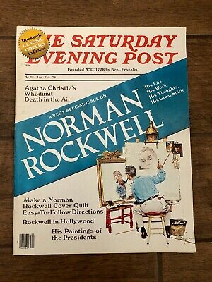 $ CDN57.86 • Buy January 1978 The Saturday Evening Post Norman Rockwell Special Vintage Magazine