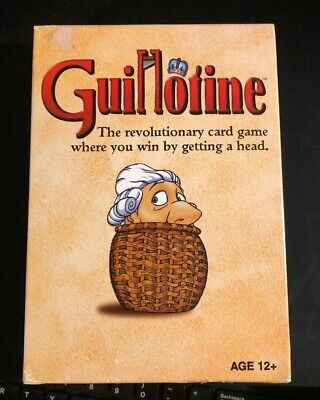 GUILLOTINE Card Game WIZARDS Of The COAST 2011 EX Complete Win By Getting A Head • 7.58$