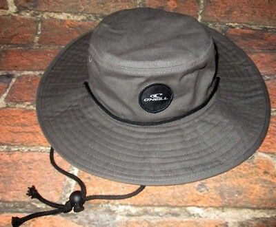 $29.95 • Buy Mens O'neill Gray Charcoal Boonie Bucket Hat One Size