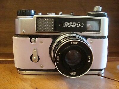 $ CDN47.50 • Buy AWESOME FED5C 35 Mm Russian Vintage Camera! Untested! A Must See!