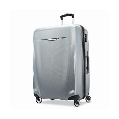 """View Details Samsonite Winfield 3 DLX Spinner 28"""" Checked Luggage - (Silver) - (120754-1776) • 109.00$"""