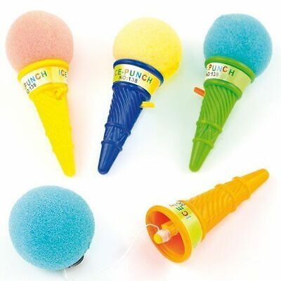 12 Ice Cream Poppers - Pinata Toy Loot/Party Bag Fillers Wedding/Kids • 4.19£