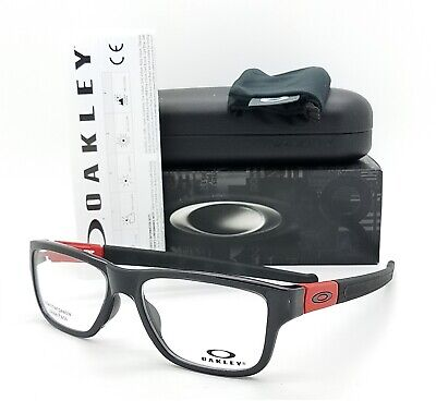 e736d5016d3e NEW Oakley Marshal MNP RX Prescription Frame Black Red OX8091-0355  AUTHENTIC • 109.99$