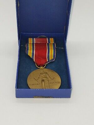 £28.39 • Buy WWII U.S. Campaign & Service Victory Medal: Slot Brooch 1941-1945